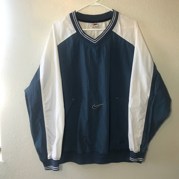 separation shoes special section recognized brands Vintage Nike Pull over Jacket